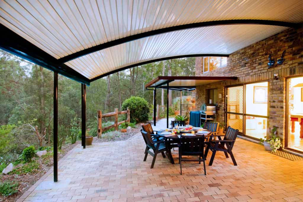 Curved Patio Total Outdoor Living